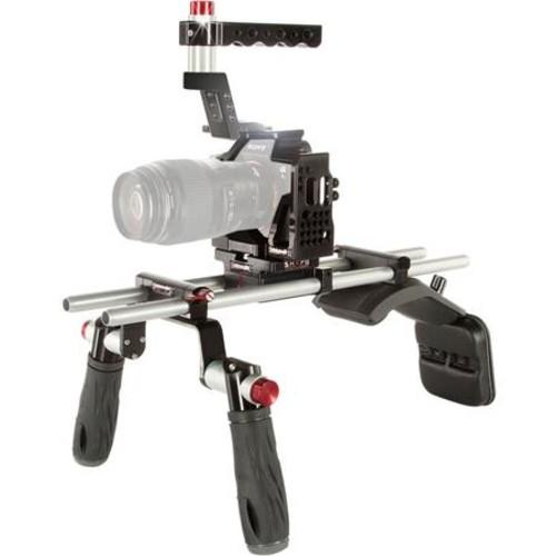Shape Shoulder Mount for Sony a7S II, a7R II, a7 II Camera & XLR-K2M Audio Unit ALPSM