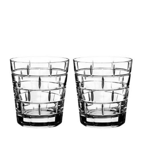 Quoin Double Old-Fashioned Glass, Set of 2
