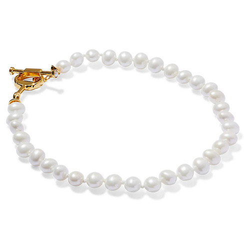 Mother-of-Pearl Pebble Necklace