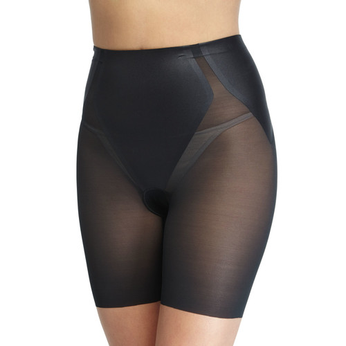 Haute Contour Sheer Mid-Thigh Shaper Shorts
