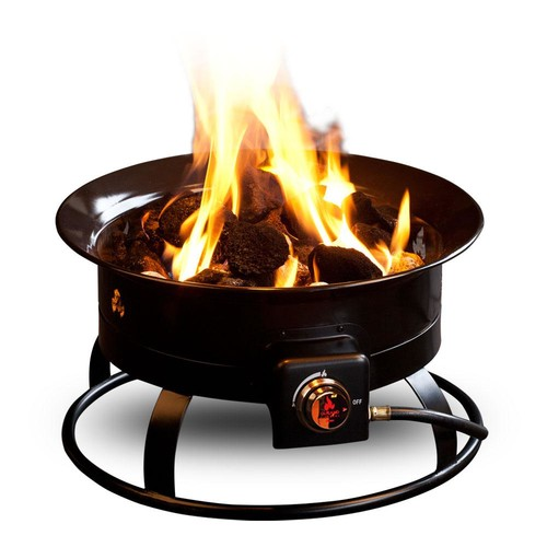 Outland Firebowl Standard 19 in. Steel Portable Propane Fire Pit