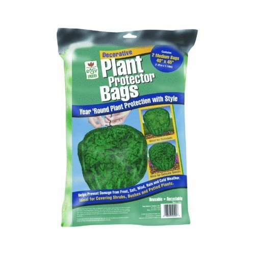 Easy Gardener Plant Protector Bags, Reusable Plant Protection for Tomatoes and Shrubs (40 inches x 45 inches), 2 Bags : Plant Frost Bag : Garden & Outdoor