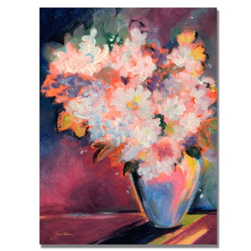 Trademark Fine Art 'Bouquet with White Blooms' 18