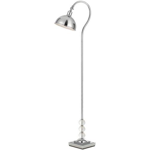 Hollace Floor Lamp - Chrome