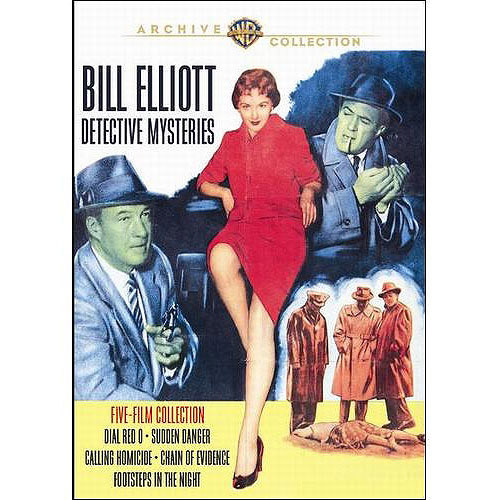 Bill Elliott Mysteries DVD