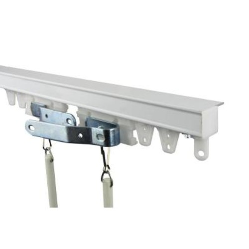 Rod Desyne 120 in. Commercial Ceiling Track Kit