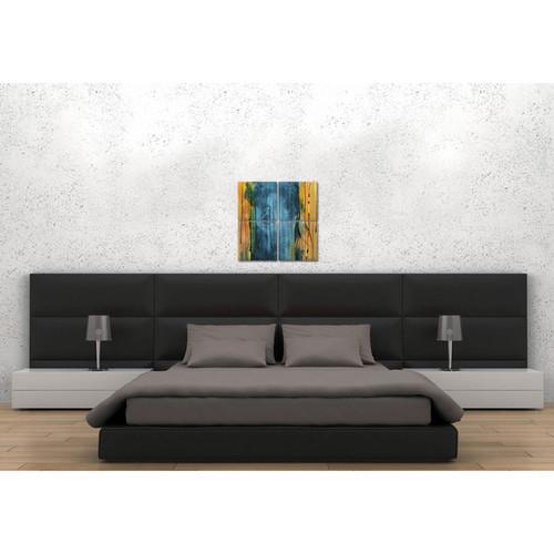 Kit Havron Mahoney Multicolored Metal Wall Art [option : Standard (25