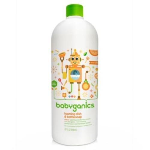 Babyganics 32 oz. Citrus Foaming Dish & Bottle Soap Refill