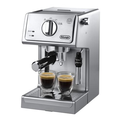DeLonghi 15-Bar Pump Stainless Espresso \u0026 Cappuccino Machine