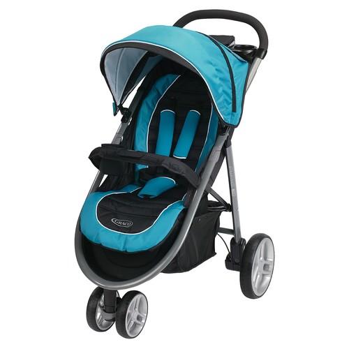 Graco Aire3 Click Connect Stroller - Poseidon