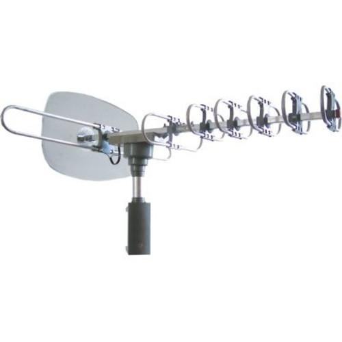 Naxa High Powered Amplified Motorized Outdoor Antenna For ATSC Digital Television
