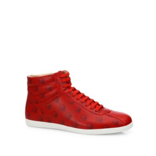 GUCCI Ghost Lace-Up Sneakers
