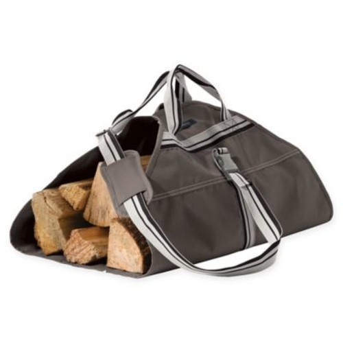 Classic Accessories Ravenna Log Carrier in Dark Taupe