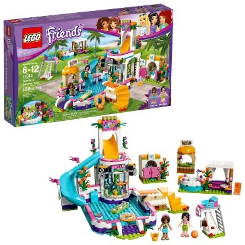 LEGO FRIENDS Heartlake Summer Pool #41313