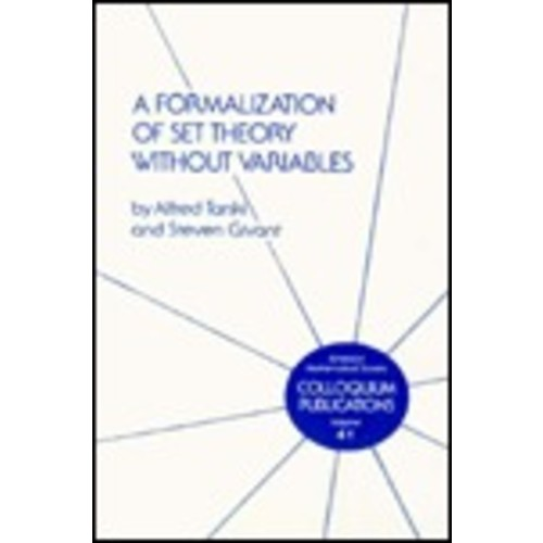 A Formalization of Set Theory Without Variables