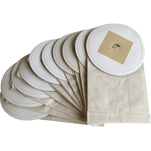 MetroVac - Vacuum Bags for Select MetroVac Vacuums (10-Pack) - White