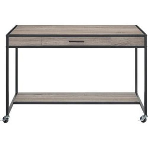 Altra Mason Ridge Mobile Desk with Drawer and Lower Bottom Shelf
