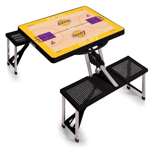 Picnic Time Los Angeles Lakers Portable Folding Picnic Table