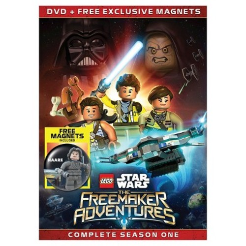 LEGO Star Wars: The Freemaker Adventures Complete Season One 2 Disc DVD with Bonus Exclusive Magnets