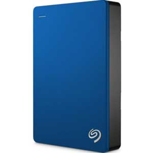 Seagate Backup Plus 4TB Portable External Hard Drive USB 3.0 - Blue : STDR4000901