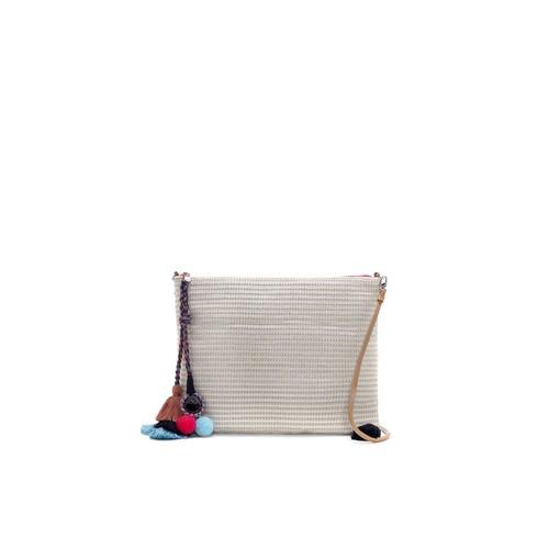 Vince Camuto Pria  Woven Crossbody Bag