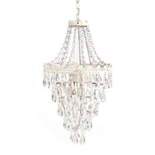 Tadpoles Pendant Lamp Chandelier - White Diamond