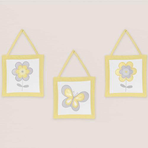 Sweet Jojo Designs Mod Garden Wall Hangings