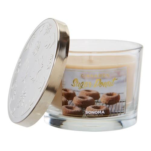 SONOMA Goods for Life 5-oz. Cinnamon Sugar Donut Candle Jar