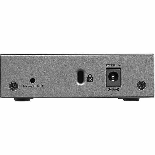 Netgear GS105E-200NA ProSafe Plus 5-Port Gigabit Ethernet Switch