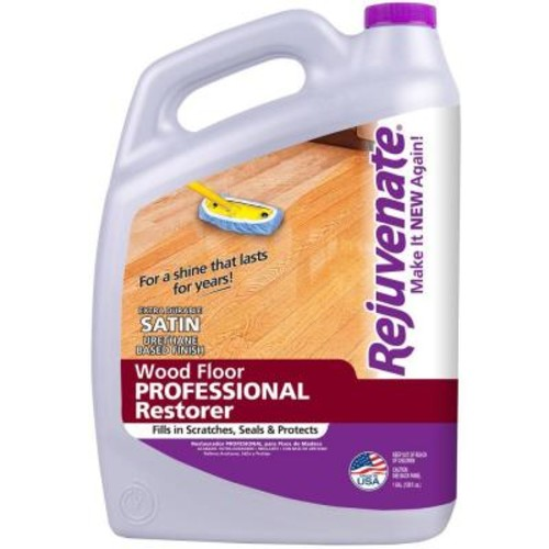 Rejuvenate 128 oz. Professional Satin Finish Wood Floor Restorer