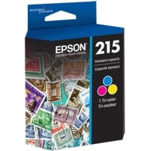 Epson DURABrite Ultra T215 Ink Cartridge - Cyan, Magenta, Yellow
