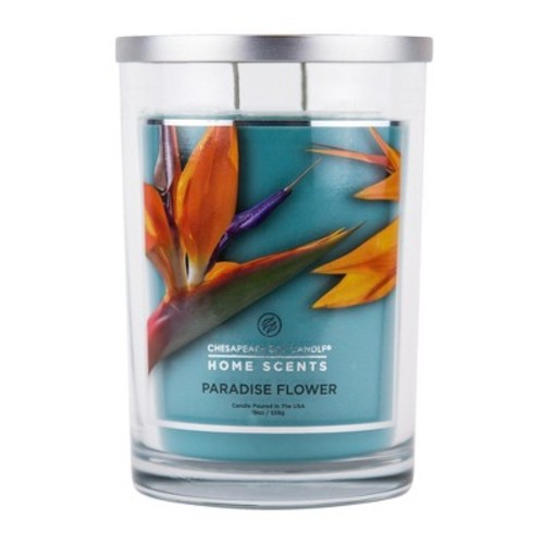 Jar Candle Paradise Flower 19oz - Home Scents by Chesapeake Bay Candles