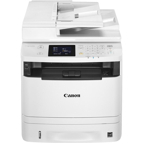 Canon - ImageCLASS MF414dw Wireless Black-and-White All-In-One Laser Printer