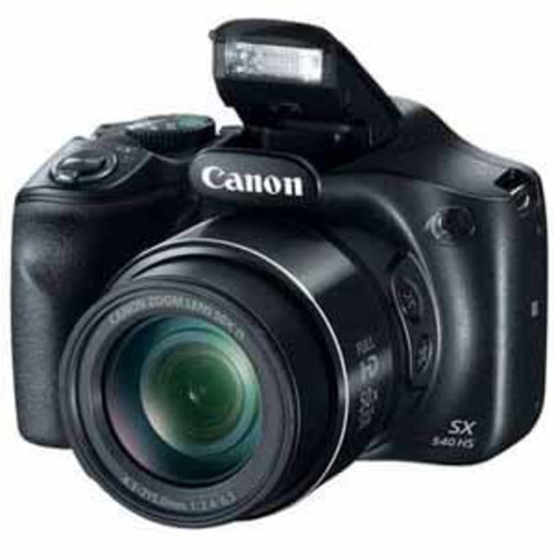 Canon PowerShot SX540 IS with 50x Optical Zoom and Built-In Wi-Fi