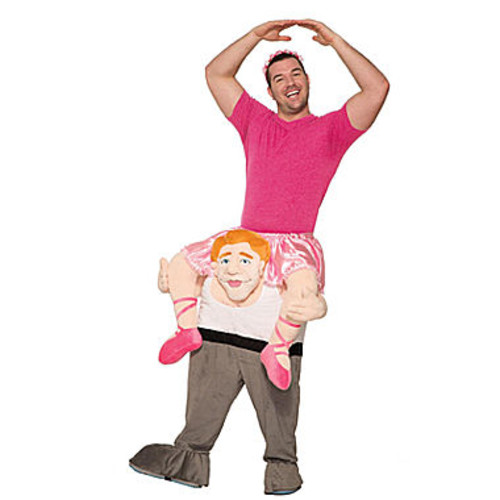 Ride a Ballerina Adult Costume - One Size Fits Most