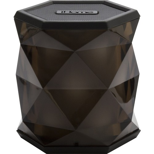 iHome - IBT68 Portable Bluetooth Speaker - Translucent gray