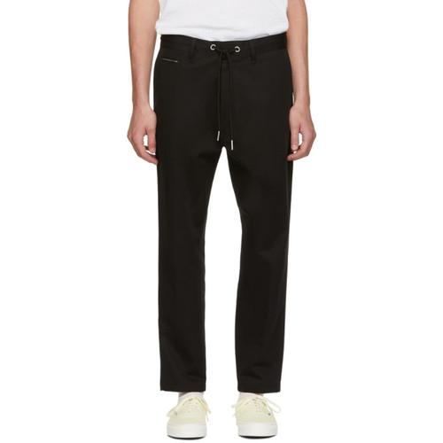 Black P Morgan Drawstring Trousers