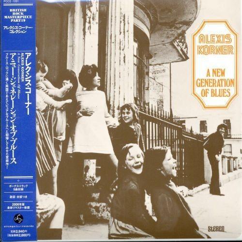 Generation Of Blues (+1 Bonus Track) [CD]