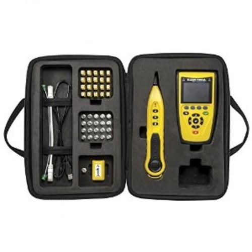 Klein Tools VDV501829 VDV Commander Test and Tone Kit [VDV Tester, Probe, Coax, F, RJ45, Twisted Pair]