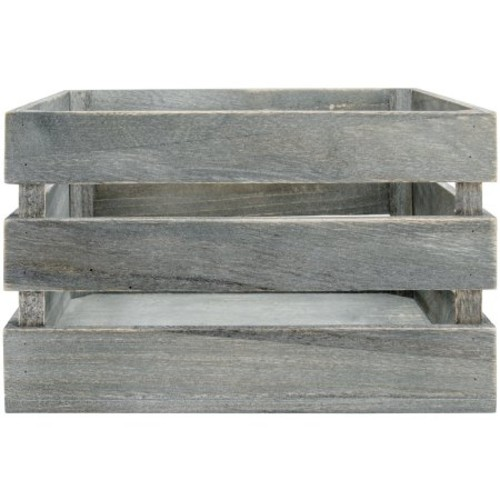 Mix The Media Weathered Wooden Crate 10.5
