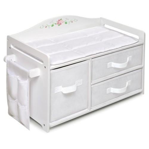 Badger Basket Doll Care Station - White Rose