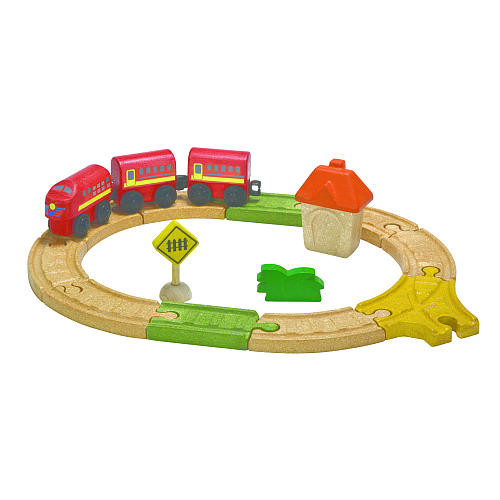 PlanToys Oval Railway Set