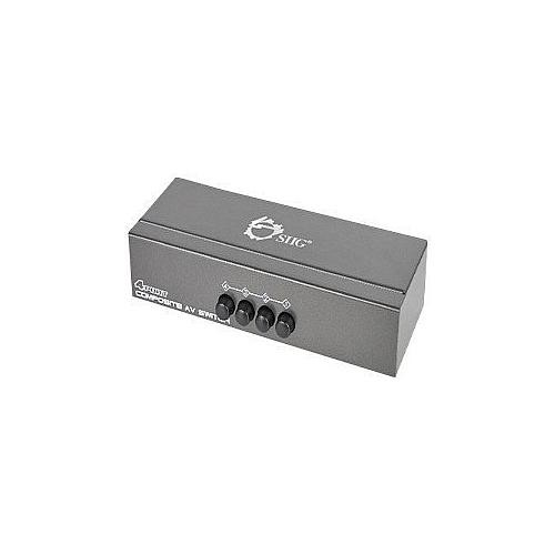 4PORT Composite Video and Audio Switch