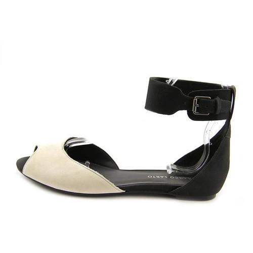 Franco Sarto Women's 'Adonia' Leather Sandals [option : Black - Size 8]