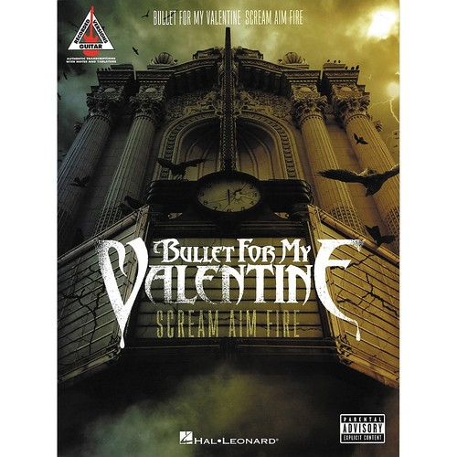 Hal Leonard - Bullet for My Valentine: Scream Aim Fire Songbook - Multi