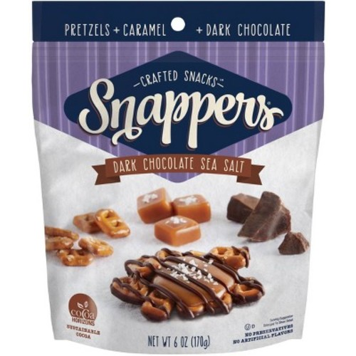 Snappers Sea Salt Dark Chocolate - 6oz