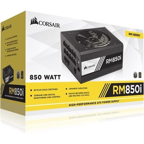CORSAIR - RMi Series 850W Fully Modular ATX Power Supply - Black