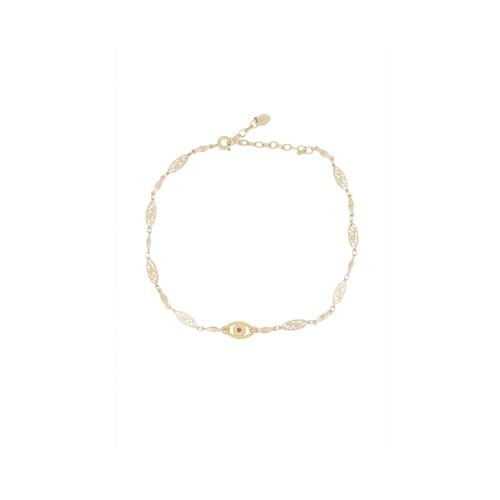 Slinky Gold Choker Necklace