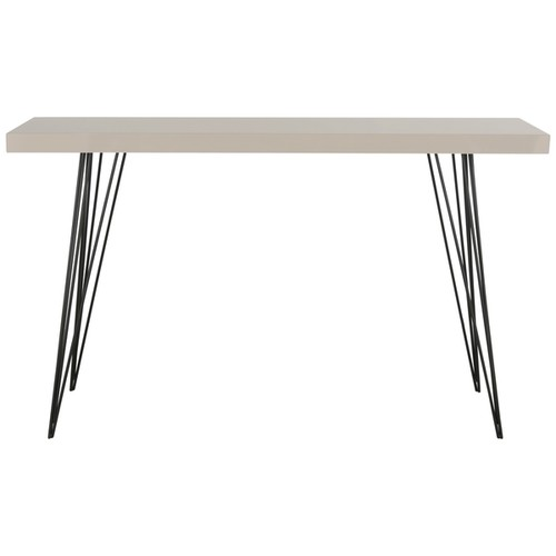 Safavieh Mid-Century Wolcott Taupe/ Black Lacquer Console