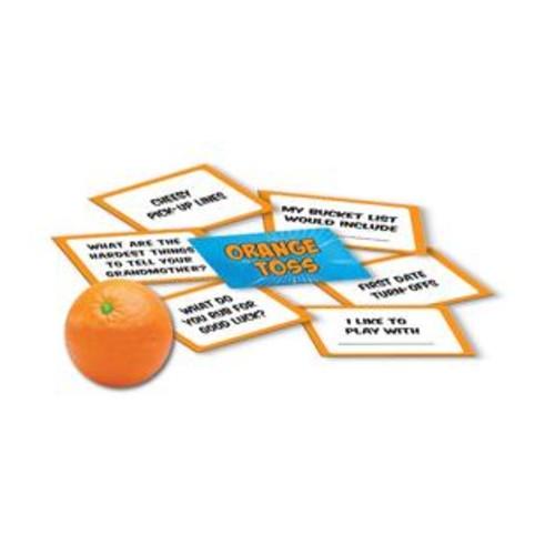 UNIVERSITY GAMES Orange Toss Game